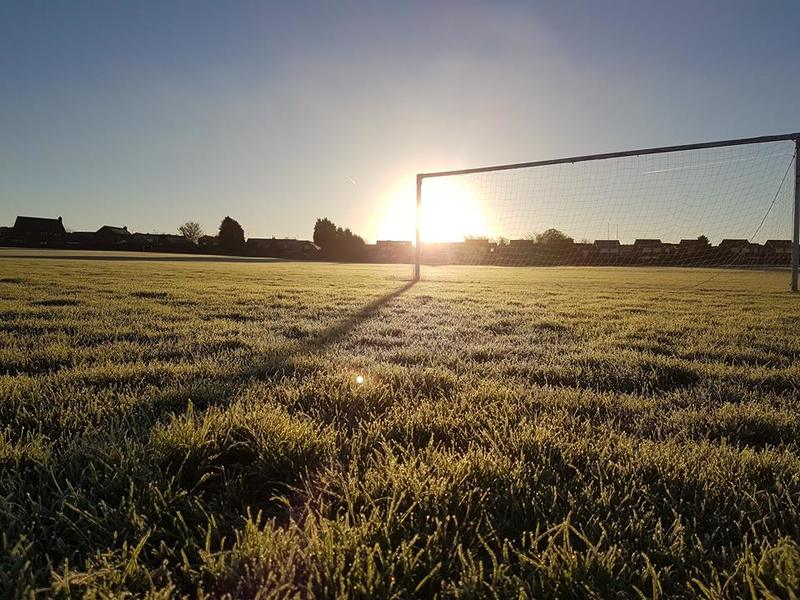 11 v 11 Full Size Grass Football Pitch