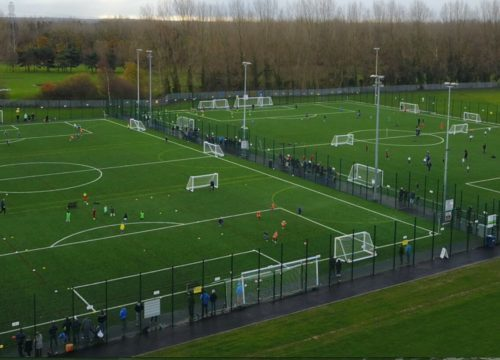 Floodlit Grass Full Size Pitch Rivacre