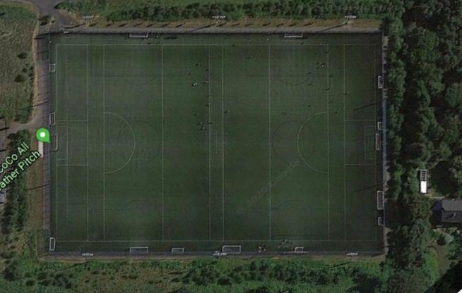 Soccer Pitch 1 - Kiltiernan End