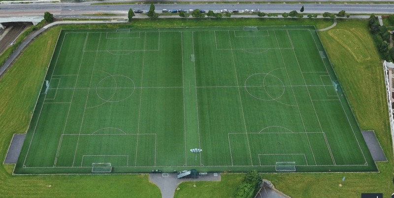 Full Size Soccer Pitch