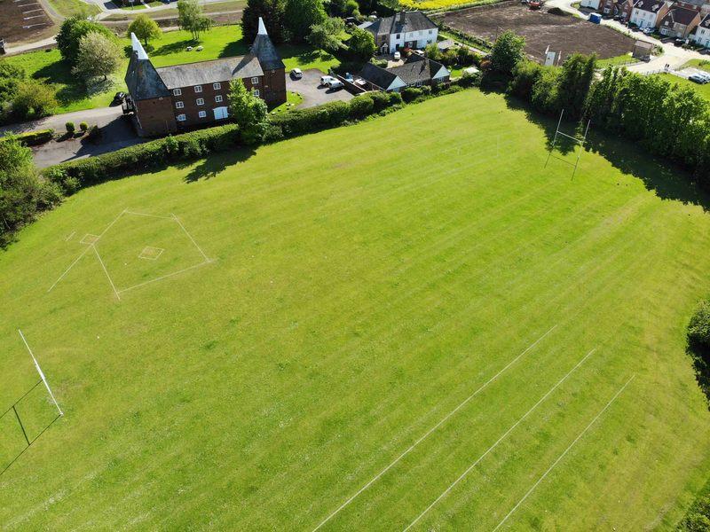Youth 9v9 Football Grass Pitch
